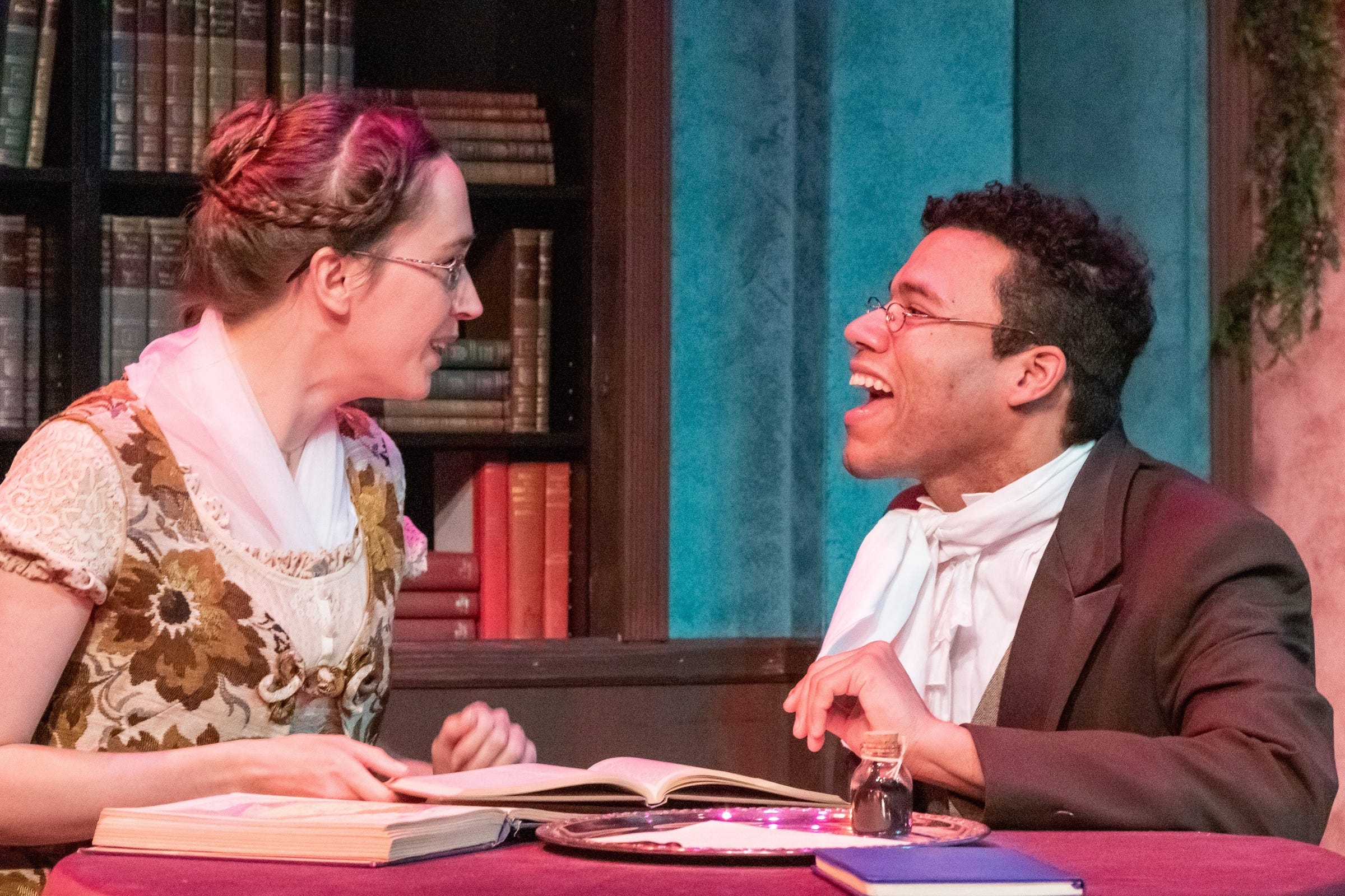 """""""Miss Bennet: Christmas at Pemberley"""" continues through Dec. 14 at Open Book Theatre."""