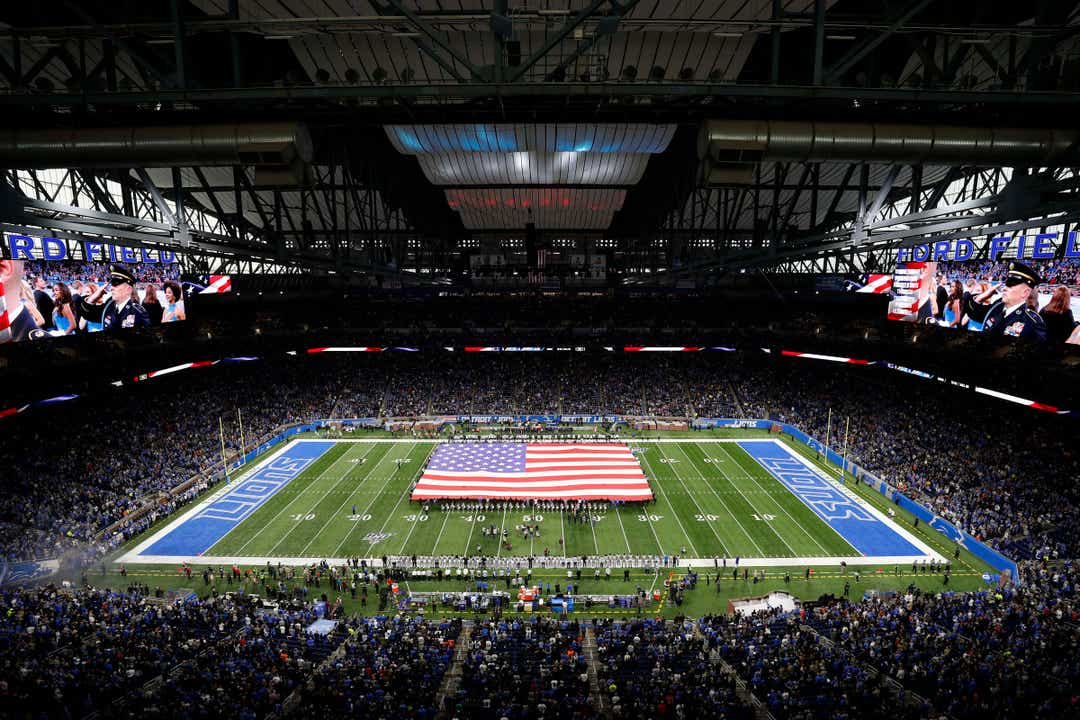 Don't expect Detroit Lions to play in packed Ford Field, Gov. Whitmer says 1