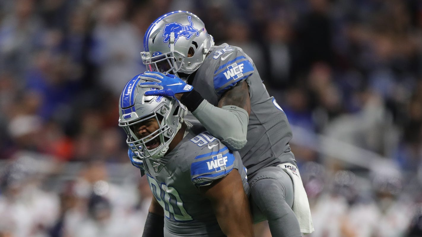 Detroit Lions' Trey Flowers gets his groove back but doesn't know how to celebrate it