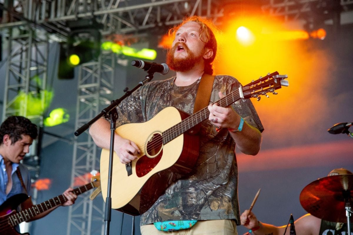 Tyler Childers' last two albums were produced by fellow music biz rebel Sturgill Simpson.