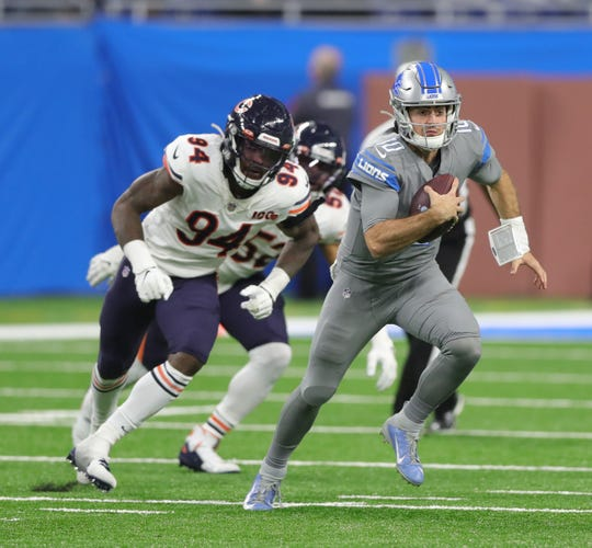 Detroit Lions Qb David Blough Ready For Encore Against