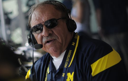 "University of Michigan color commentator Dan Dierdorf is a guest on Angelique Chengelis' podcast, ""View from the Press Box."""
