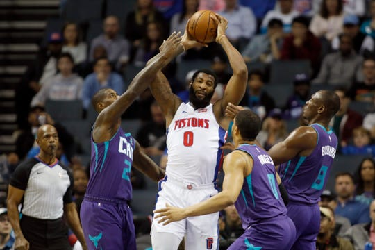 Andre Drummond could become a free agent this summer.