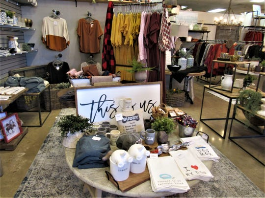 The eclectic mix of gifts, clothing and home décor available inside the new Southern Style Market offers plenty of options for shoppers.