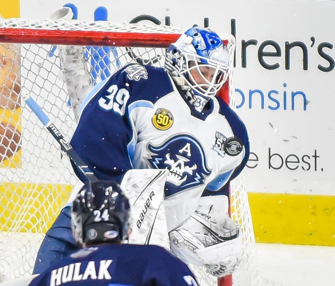 Connor Ingram went 21-5-5 for the Milwaukee Admirals and finished third in the AHL in save percentage and goals-against average in 2019-20.