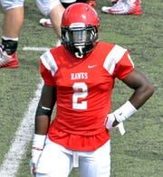 Otis Porter, though he wears No. 2, is Huntingdon's No. 1 receiver in career catches, yards and touchdowns.