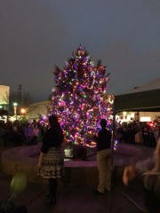 The 2018 Christmas Tree lighting in Downtown Dickson.