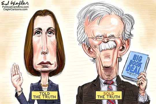 Fiona Hill, John Bolton and the truth.