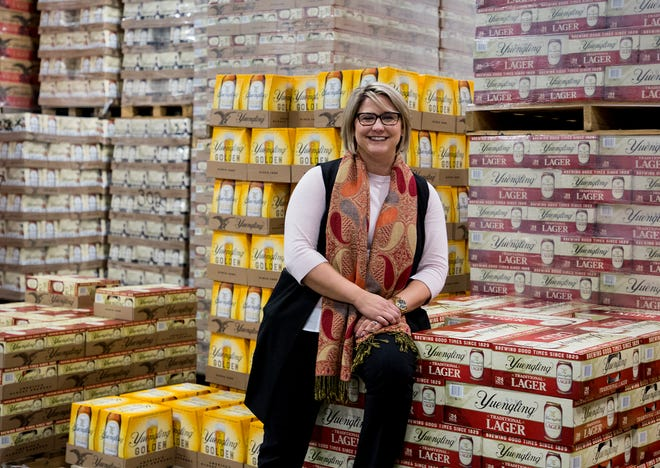 Sarah Schwab, recently took over as president and chief operating officer of the 91-year-old Matesich Distributing Company.