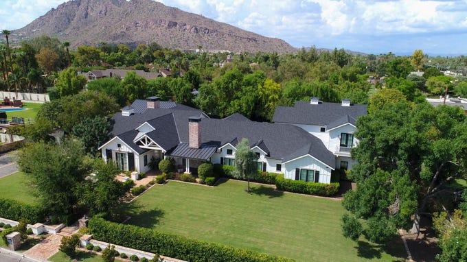 Geoff Ogilvy sold this $4.1M estate in Scottsdale.