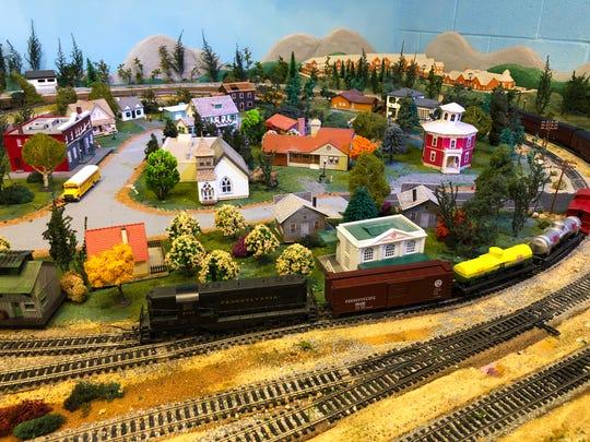 Cross Keys Village will have model trains on display through Dec. 30.