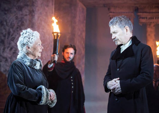 """""""Branagh Theatre: The Winter's Tale,"""" starring Judi Dench and Kenneth Branagh, is playing Wednesday at Small Star Art House."""