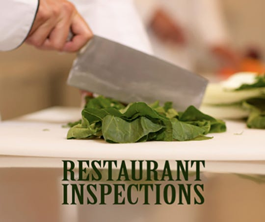 The Delaware County Health Department released its latest food-establishment sanitation inspection results.