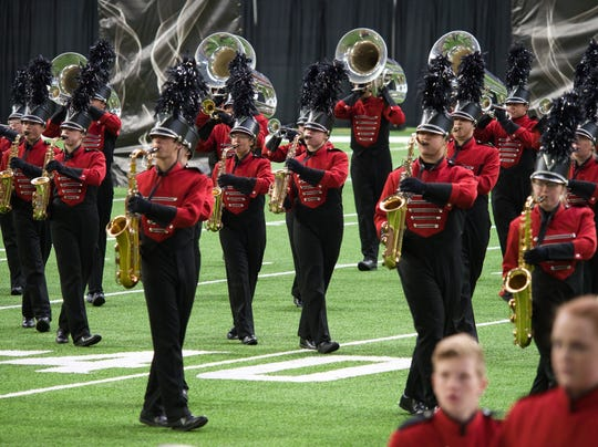 The Brandon Valley marching band will be performing at halftime of the Camping World Bowl on Dec. 28 in Orlando.