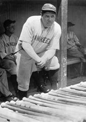 Babe Ruth was the first major league player to hit 500 home runs.