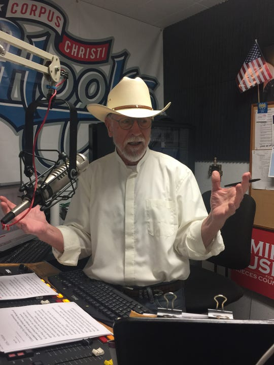 Longtime Corpus Christi talk radio host Jim Lago is retiring Dec. 6.