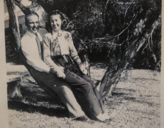 John and Charlotte Henderson met in 1934 at the University of Texas. On Dec. 22 they will celebrate their 80th wedding anniversary.
