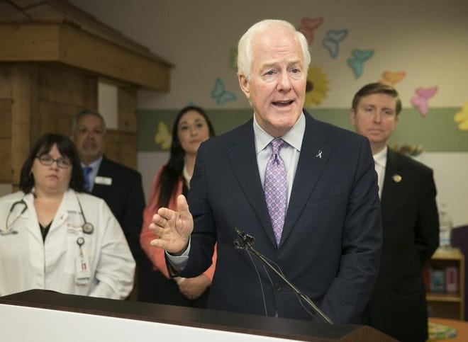 U.S. Sen. John Cornyn (R-Texas) co-authored legislation to tighten federal reporting to the FBI's background check system.