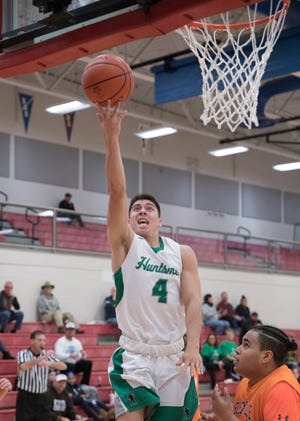 Huntington High School defeated Nelsonville York 66-64 at the Zane Trace Tipoff Classic on Friday November 29, 2019.