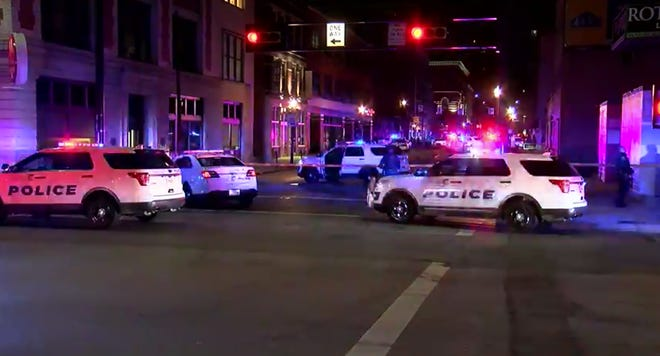 One person is dead and one person is critically injured after a shooting in the 900 block of Race overnight Friday.