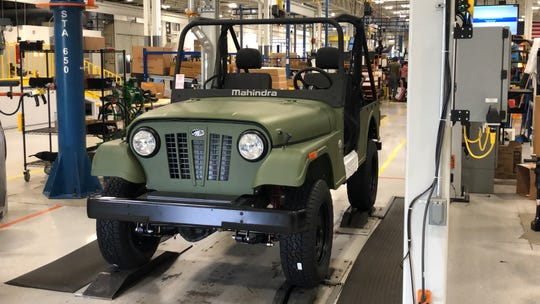 Mahindra builds Roxors largely by hand.