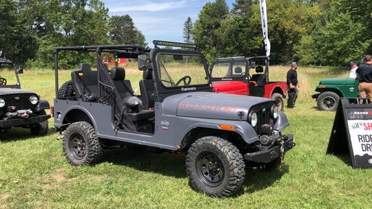 Fiat Chrysler says the Roxor ATV looks too much like a Jeep.