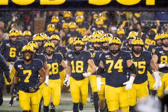 Michigan takes on Ohio State on Saturday in Ann Arbor in a showdown between top-10 teams.