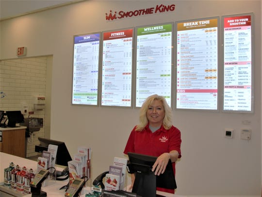 Tammy Schuler is the general manager of the new Smoothie King store in Marion. The store will be open to the public on Tuesday, Dec. 3 and host its grand opening on Saturday, Dec. 7. Schuler said the store has hired 20 employees.
