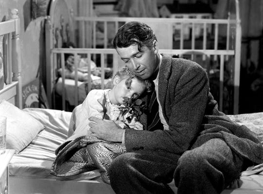 """Get a cinematic hug from George Bailey and Zuzu andearn some angel's wingswhen youhelp the Mid-South Food Bank by attending Monday night's screening of """"It's a Wonderful Life"""" at the Orpheum."""