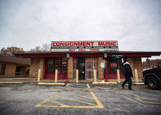 Consignment Music Store in Memphis, Tenn., on Friday, Nov. 29 2019.