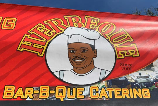 Herbeque at the Marco Island Farmer's Market.