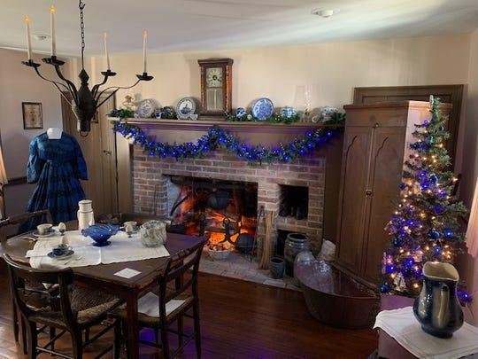 The Sherwood-Davidson House in Veterans' Park is one of several houses that will be decorated for the season and open to the public several days in December.