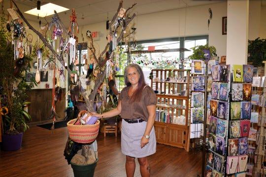 Sandi Liss inside her Butler, N.J. store Soul Journey.