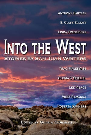 """Into the West"" features 14 short stories by eight Farmington-area writers."