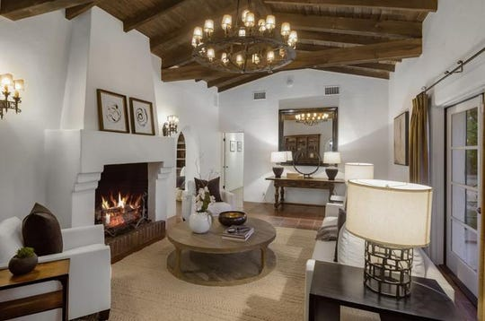 Located at 630 E. Tacheva Drive, the estate of Charlie Farrell is on sale for about $3.7 million