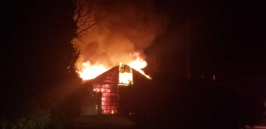 Ten animals were reported dead in Thursday barn fire at African Safari Wildlife Park in Danbury Township.