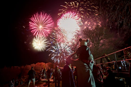 Christmas on Caddo Fireworks Festival in Oil City will be Dec. 7.
