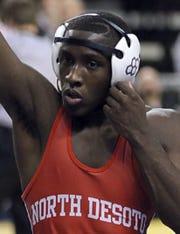 North DeSoto wrestler Richard Mack
