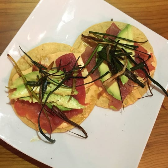 Tuna Tostones at Zuzul Coastal Cuisine, now open at 1370 E. 70th St. in Shreveport.