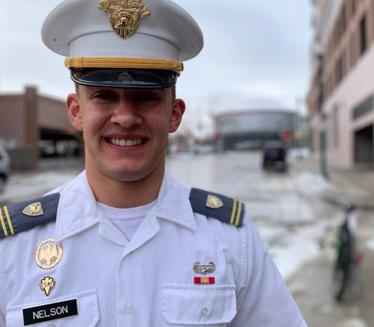 Cadet Jonah Nelson is in his third year at the United States Military Academy  in West Point, New York.