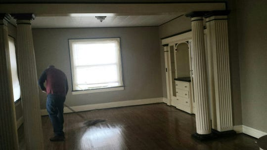 The inside of the house, built in 1900, is in great condition, says the owner.
