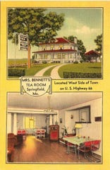 The building at 3005 W. Chestnut Expressway was once home to Mr. Bennett's Tea Room.