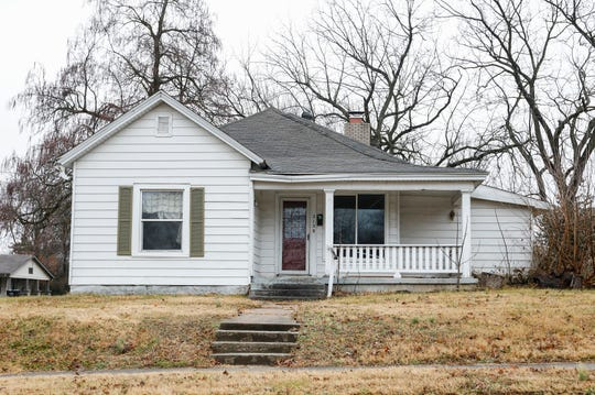 This home at 2158 Boonvillle Ave., has been declared a dangerous building by the city of Springfield.