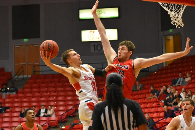 Dixie State senior Jack Pagenkopf is earning respect as DSU's main facilitator.