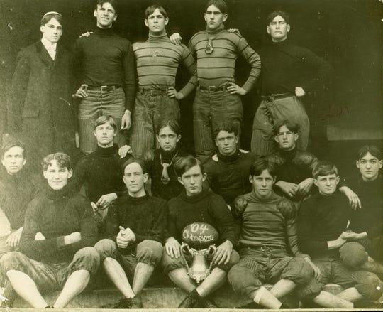 FSU's 1904 football t eam