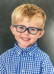 Noah Odham, age 3