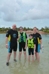 Make-A-Wish Juliana 3 Juliana of Buena recently had her wish to swim with dolphins granted by Make-A-Wish New Jersey. Juliana and her family traveled to Atlantis, Bahamas, to make her wish come true.