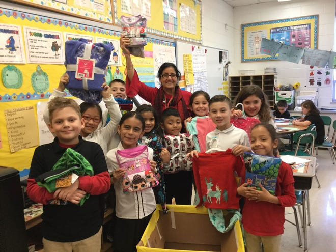 D'Ippolito Elementary School's Great Bedtime Story Pajama Drive will continue through Dec. 6. Community members are invited to contribute to the collection by donating new pajamas, any size.