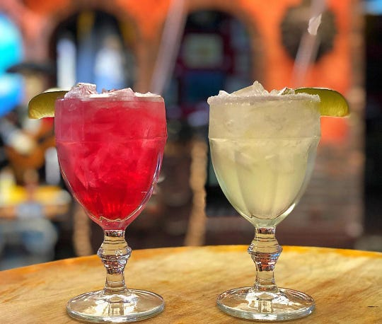 Margaritas at Casa del Sol in Nyack are $6  during Happy Hour.