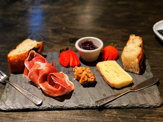 Charcuterie board at Communal Kitchen in Nyack.